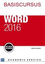 Basiscursus Word 2016