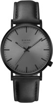 KANE Watches BO001 Black Out Classic Black horloge