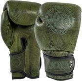 Joya Thai Bokshandschoenen Fight Fast Groen Leer-16 oz.