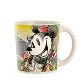 Disney Mug Minnie Color FUN Ivory Green ML 390