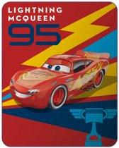 Disney Cars Generation - Fleeceplaid - 110 x 140 cm - Rood