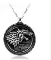 Game of Thrones - Keychain - ketting met hanger - Winter is coming - Stark