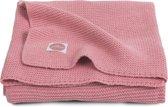 Jollein Basic knit Deken 75x100cm coral pink