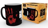 FANS WALKING DEAD - Mug Heat Change 300 ml - Hand Print