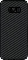 Nillkin Synthetisch Carbon Case voor Samsung Galaxy S8 Plus - Zwart