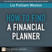 How to Find a Financial Planner