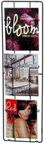 Puhlmann Frame-3 - Tijdschriftenrek - Zwart - Metaal