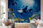 Onderwater wereld  - Fotobehang 366 x 254 cm