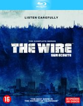 DVD cover van The Wire - Complete Collection: Seizoen 1 t/m 5 (Blu-ray)