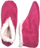 Spaanse kinder sloffen roze 23