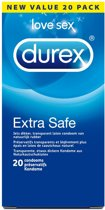 Durex Extra Safe Condooms - 20 stuks