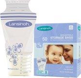 Lansinoh Moedermelk Bewaarzakjes - 50 Pack
