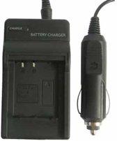 Digitale camera batterijlader voor Panasonic 007E (zwart)