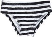 Beach & Bandits - UV-bikinibroekje meisjes - Bandit - zwart-wit