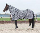 Harry's Horse Vliegendeken met losse hals, zebra 205cm