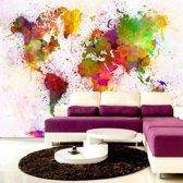 Fotobehang - Gekleurde wereld