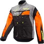 Kenny Track Enduro Jacket Orange/Grey-XXXL
