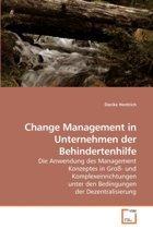 Change Management in Unternehmen Der Behindertenhilfe