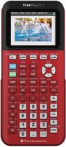 Texas Instruments TI-84 Plus CE-T - Kleurenscherm - Rood