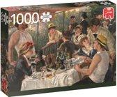 Renoir De Lunch van de Roeiers Premium Quality - Puzzel 1000 stukjes