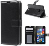 Cyclone Cover wallet hoesje Microsoft Lumia 650 zwart