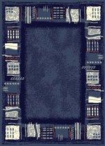 Vloerkleed  corona 160x230cm blauw Hanse Home