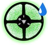 5 meter groen led strip waterproof - IP65 - 30Leds/m - 12V