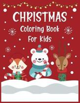 Christmas coloring book for kids.: Christmas Coloring Activity Book for Kids. A Children's Holiday Coloring Book with Large Pages.