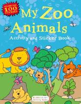 My Zoo Animals Activity and Sticker Book