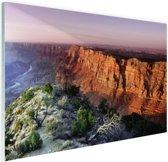 Grand Canyon Arizona  Glas 30x20 cm - klein - Foto print op Glas (Plexiglas wanddecoratie)