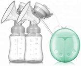 Dubbele Elektrische Borstkolf 150 ml - BPA-Vrij Kolfapparaat - Groen