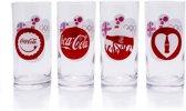Coca Cola Longdrink Glazen Set Olympische Spelen Londen 2012 | 12 stuks | VOORDEELVERPAKKING