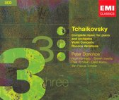 Tchaikovsky: Complete Music for Piano and Orchestra; Violin Concerto; Rococo Variations