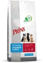 Prins Fit Selection Zalm & Rijst - Hondenvoer - 15 kg