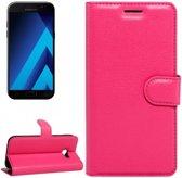 Samsung Galaxy A5 2017 - Litchi Wallet Case - Magenta