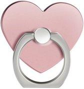 Roze hart Ring vinger houder- standaard voor telefoon of tablet