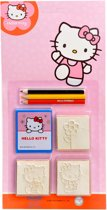 Stempelset 5 delig-Hello Kitty