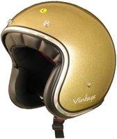 AMX Vintage Glitter gouden jethelm