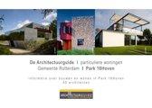 De architectuurguide Park 16Hoven