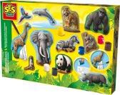 SES Gieten en schilderen - dieren