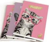 Schriften Studiopets - 3-pack A5