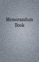 Memorandum Book