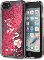 iPhone 8/7/6s/6 hoesje - Guess - Roze - TPU
