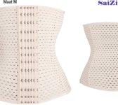 Saizi beige /Waist Trainer - M - Buik Korset Belt - Body Shaper Trimmer Corset Band - Shapewear