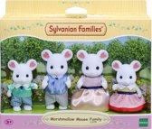 Sylvanian Families 5308 Familie Marshmellow Muis - Speelfigurenset