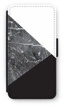 Samsung Galaxy S9 Flip Hoesje - Combinatie marmer