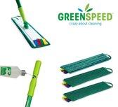 Greenspeed Sprenklerset met Twistmoppen en Scrubmop