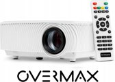 Overmax - Multipic 2.4 - Beamer - LED - FULL HD - WIFI - Wit