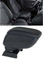 Armsteun zwart Dacia Logan 04-12  inklapbaar met opbergvak