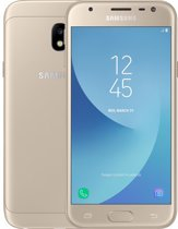 Samsung Galaxy J3 (2017) - 16GB - met Lebara simkaart - Goud
